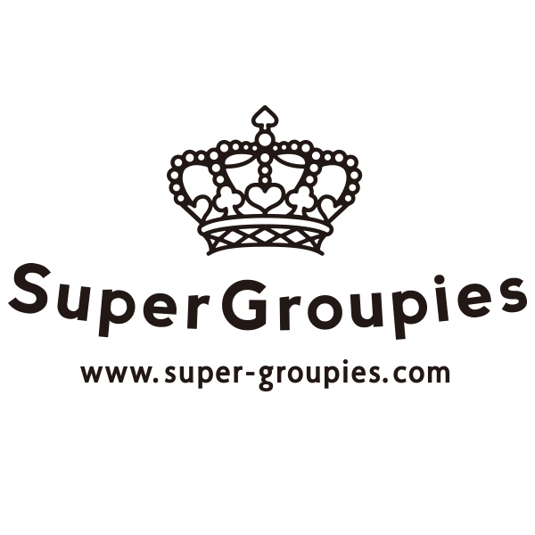 SuperGroupies(スーパーグルーピーズ)はアニメやゲーム作品とコラボレーションしたアパレル、雑貨の通販サイトです。